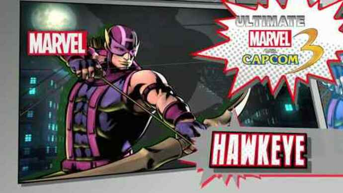 Ultimate Marvel vs Capcom Hawkeye trailer