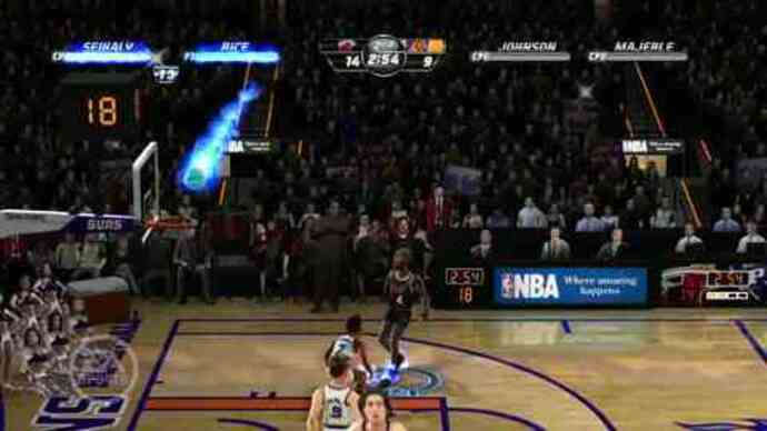 NBA Jam On Fire gameplay footage