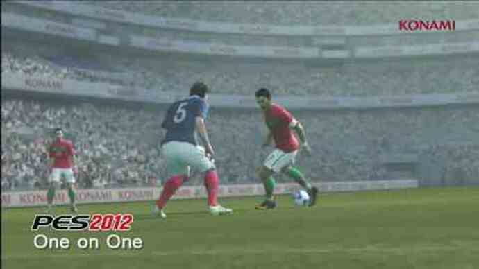 PES 2012 - One on Onegameplay