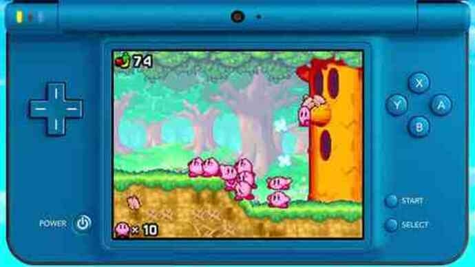 Kirby Mass Attack DS gameplay