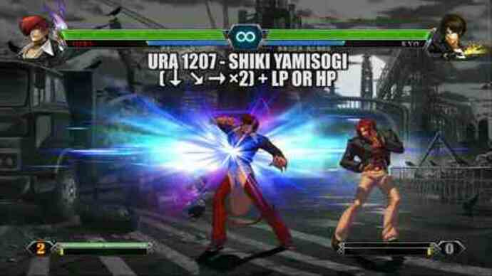 King of Fighters 13 charactertrailers