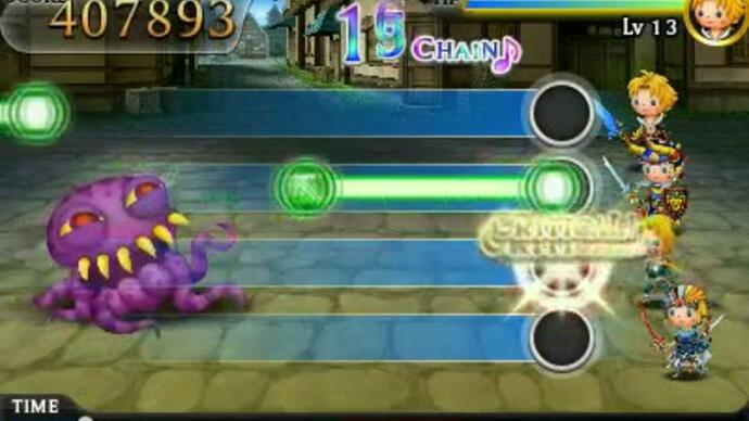 Theatrhythm Final Fantasy 3DS trailer