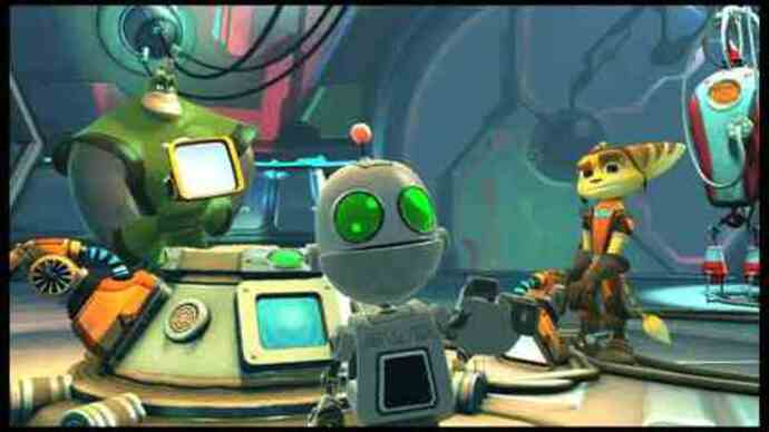 Ratchet & Clank All 4 One -Gameplay