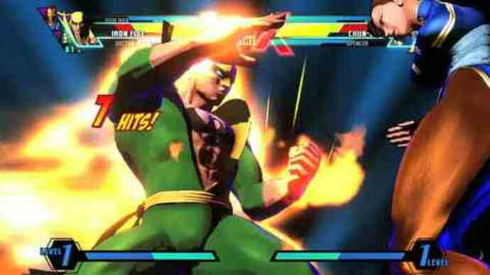 Ultimate Marvel Vs Capcom 3 trailer