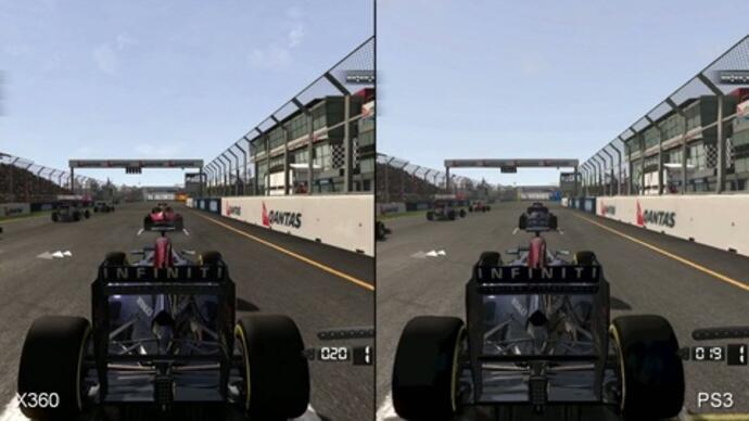 F1 2011 Xbox 360/PS3 Face-OffVideo