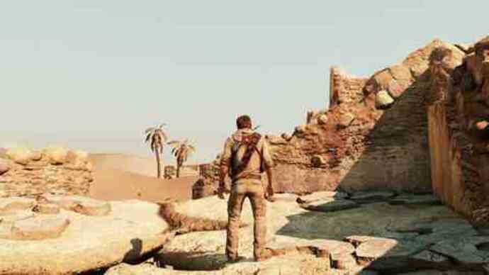 Uncharted 3 - Desert gameplay