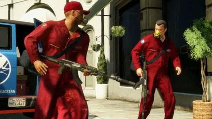 De trailer voor Grand Theft Auto 5