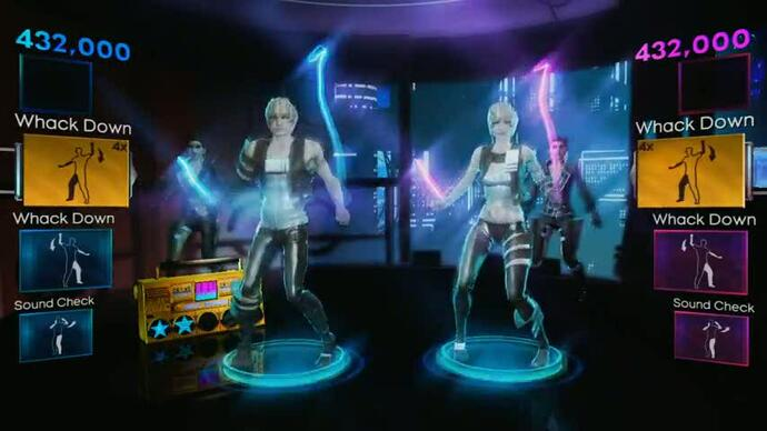 Dance Central 2 Lady Gaga track packtrailer