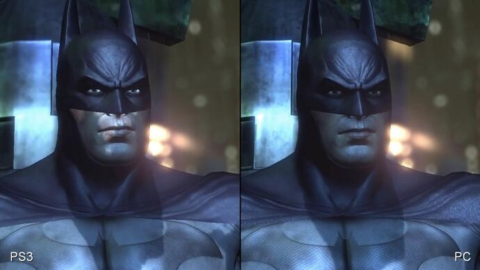 Batman: Arkham City PS3/PC Face-Off video