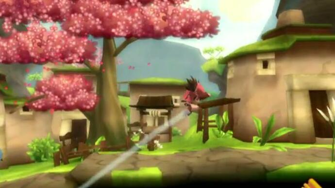 First iOS LostWinds trailer