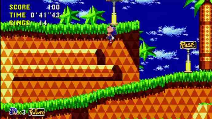 Tune into this Sonic CD launchtrailer