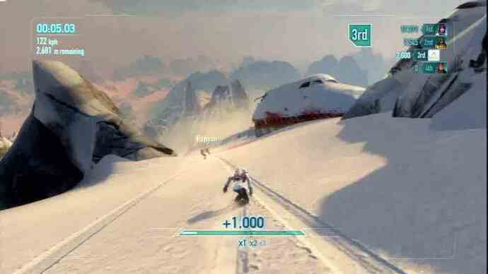 SSX trailer shows off fresh gameplay