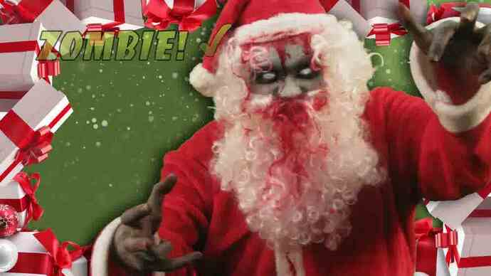 All Zombies Must Die! Christmas trailer