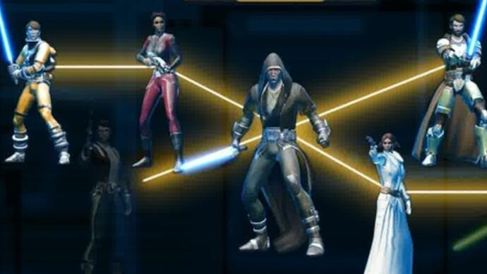 Trailer: Bald in Star Wars: The Old Republic