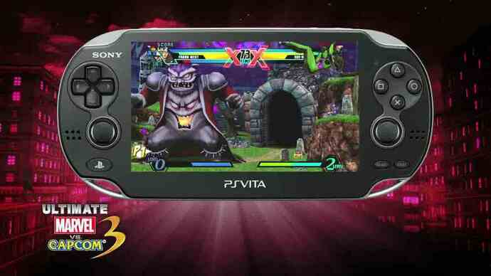 Ultimate Marvel vs Capcom 3 PlayStation Vita trailer