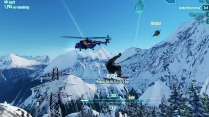 Latest SSX trailer reveals online features