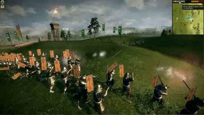 Total War: Shogun 2: Fall of the Samurai gameplay
