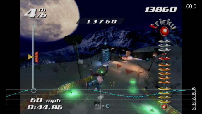 SSX Tricky on PS2 - Performance Analysis Video