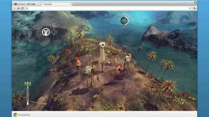 From Dust gets Google Chrome launch trailer