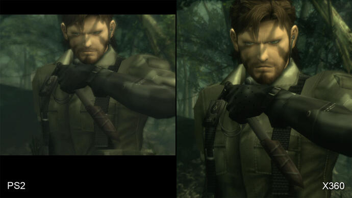 Metal Gear Solid 3: PS2 vs. HD Remaster