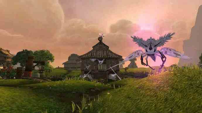 World of Warcraft: Mists of Pandaria - Valley of the Four Windsgameplay