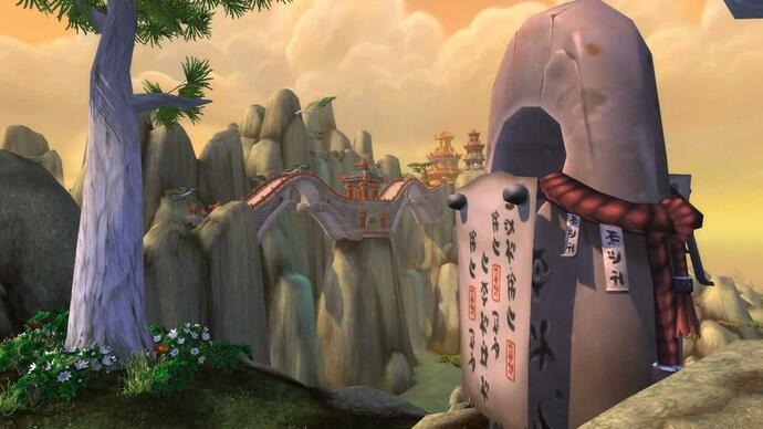 World of Warcraft: Mists of Pandaria - The Jade Forestgameplay