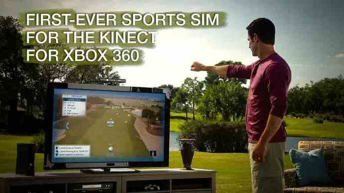 Tiger Woods 13 Kinect launchvideo