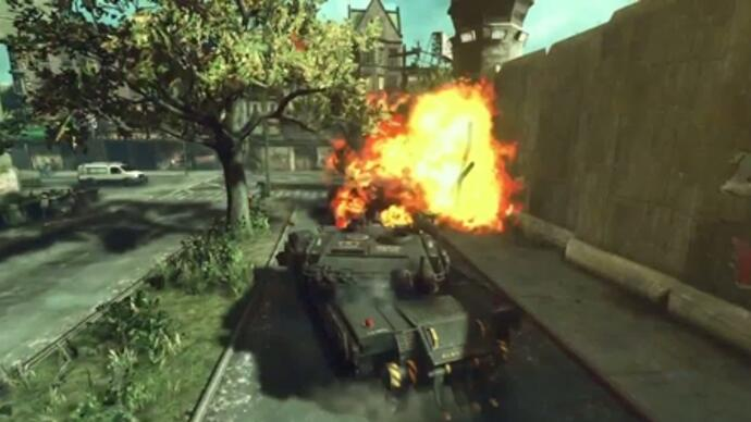 Prototype 2 - Gameplay com tanques