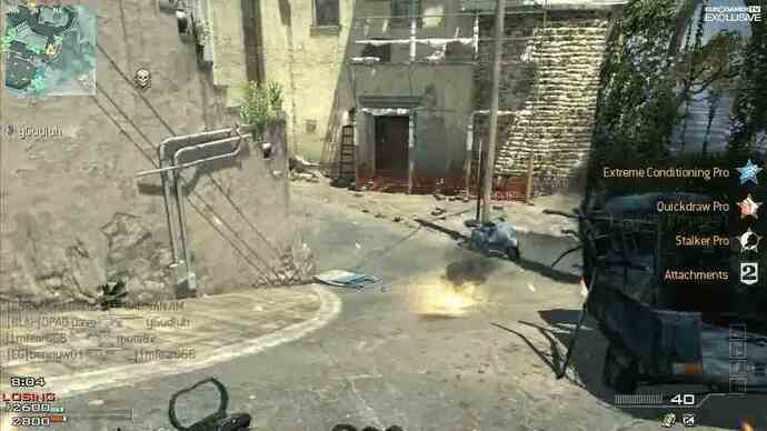 Exclusivo Modern Warfare 3 Map Pack 1 Piazza gameplay