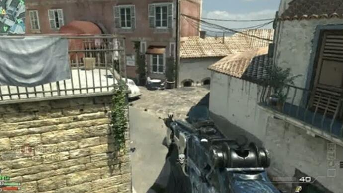 Modern Warfare 3: Content Collection 1 - Piazza Gameplay-Video