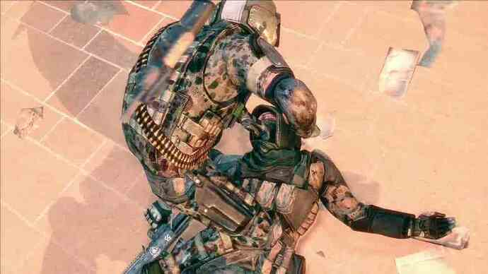 Spec Ops: The Line video del gameplay multiplayer