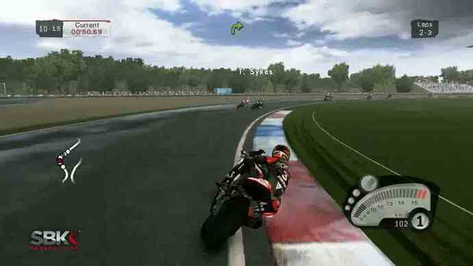 New SBK Generations gameplay footage