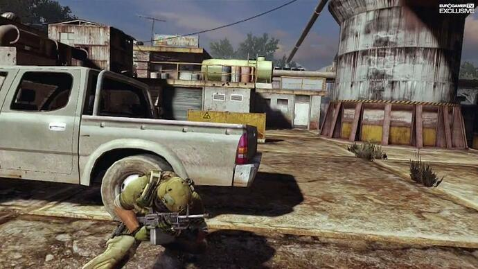 More Ghost Recon: Future Soldier beta footage