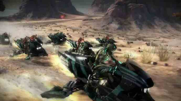 Starhawk launch trailer lands