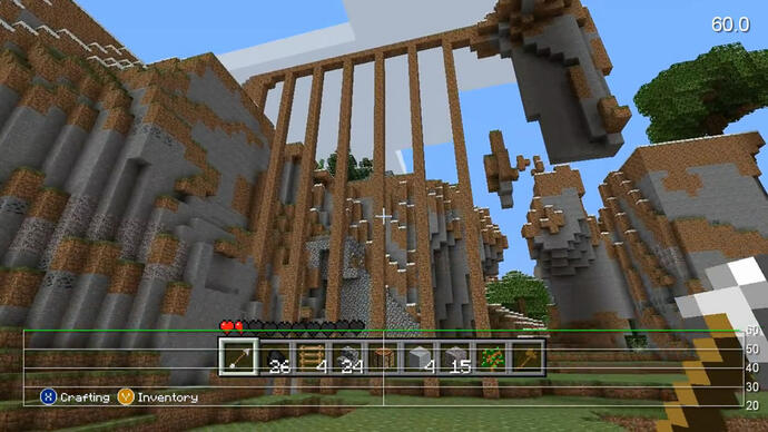 Minecraft Xbox 360 Performance Analysis Video
