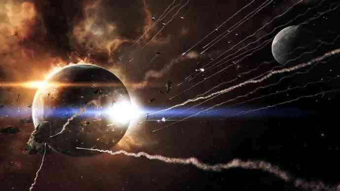 Thumping Eve Online: Inferno trailer blows upspace