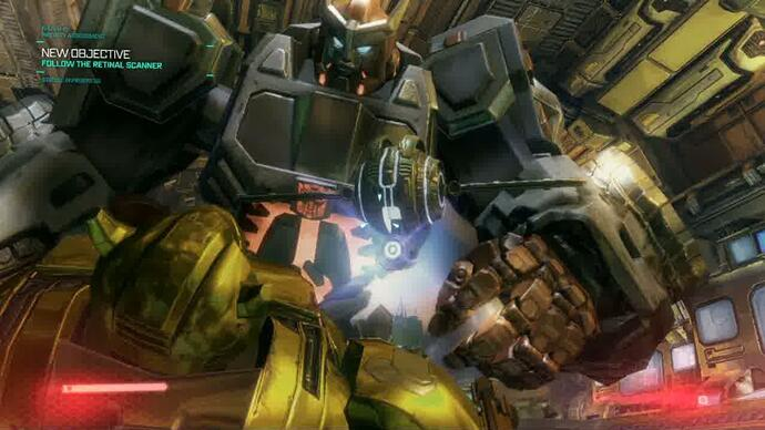 Transformers Fall Of Cybertron - Demogameplay