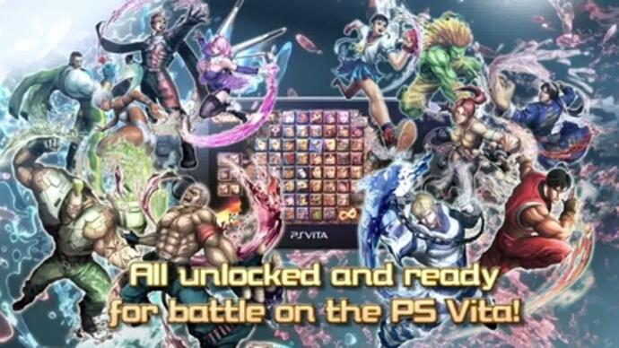 Street Fighter X Tekken Vita Gamescom trailer