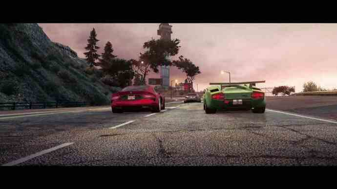Multiplayer Need for Speed: Most Wantedtrailer