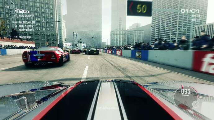 GRID 2 Chicago Point-To-Point Race GameplayFootage