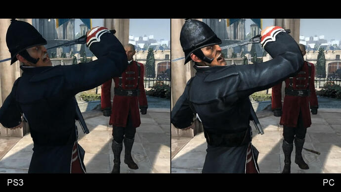 Dishonored PC vs. PlayStation 3 Face-Off Video