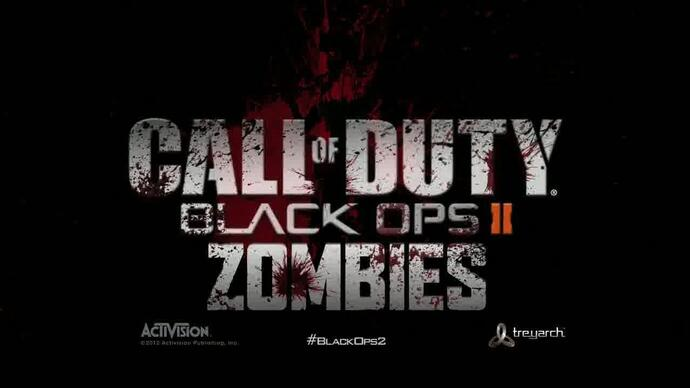 Call of Duty: Black Ops 2 Zombie gameplay