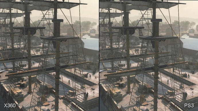 Assassin's Creed 3: Xbox 360 vs. PlayStation 3 Face-Off Video