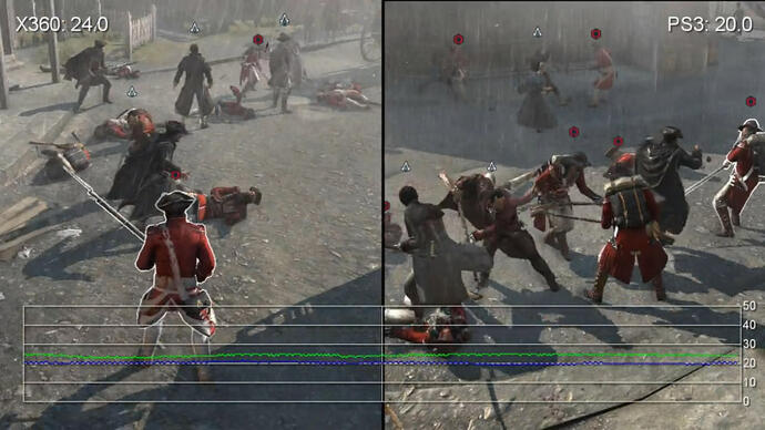 Assassin's Creed 3: Gameplay Performance Video