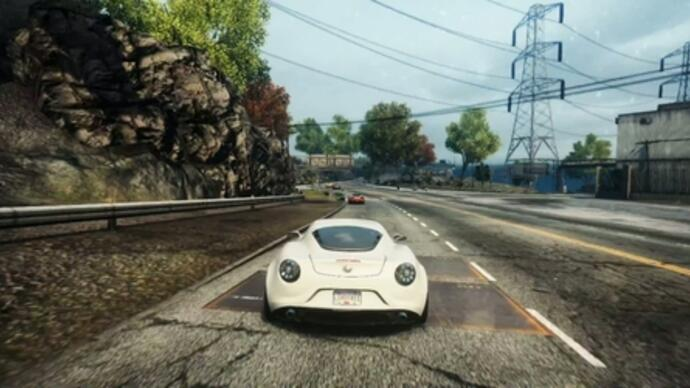 Need for Speed: Most Wanted -Gameplay-Video