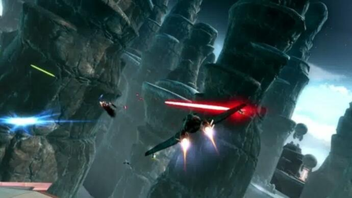 Star Wars: The Old Republic - Galactic-Starfighter-Trailer