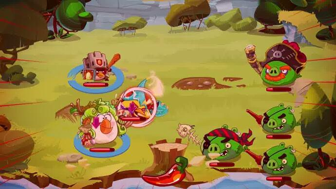 Angry Birds Epic - Primeiro trailer gameplay