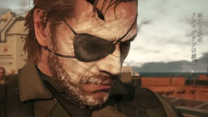 Metal Gear Soild V Phantom Pain - Trailer E3 2014