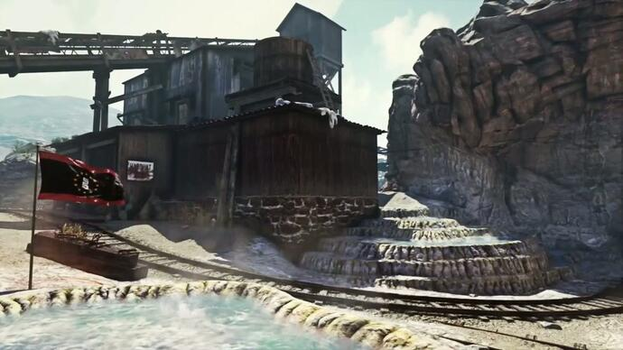 Call of Duty Ghosts - Trailer mapa Goldrush