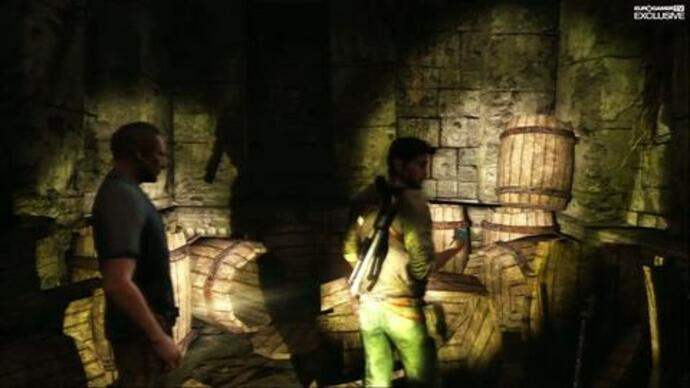 Exclusive: Uncharted 2 gameplay
